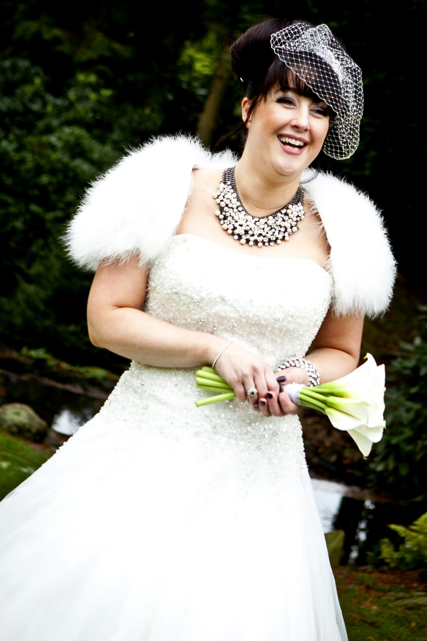 wedding-photography-of-a-happy-bride-at-mottram-hall-cheshire