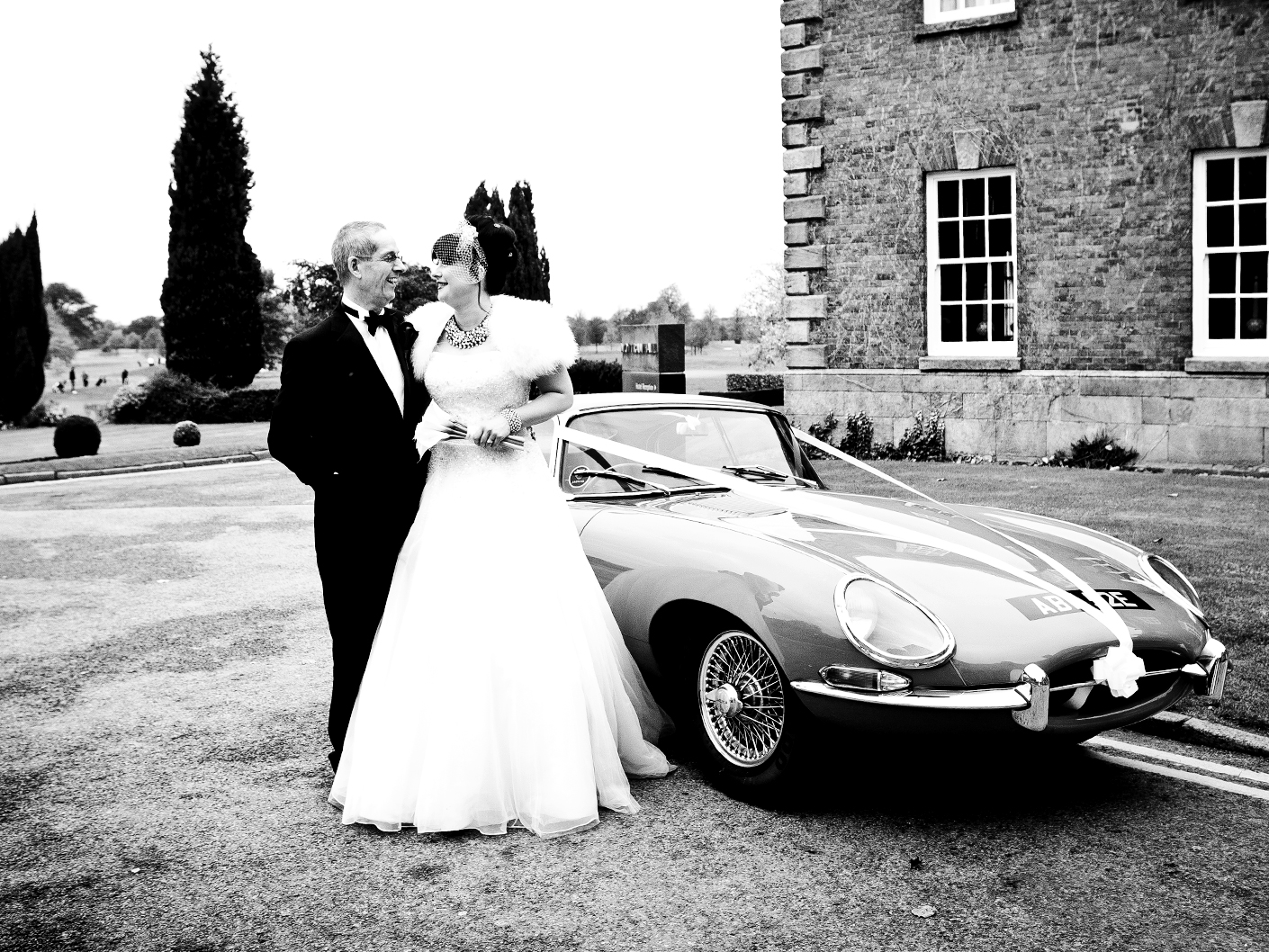 wedding-photography-of-the-bride-and-father-outside-mottram-hall-cheshire