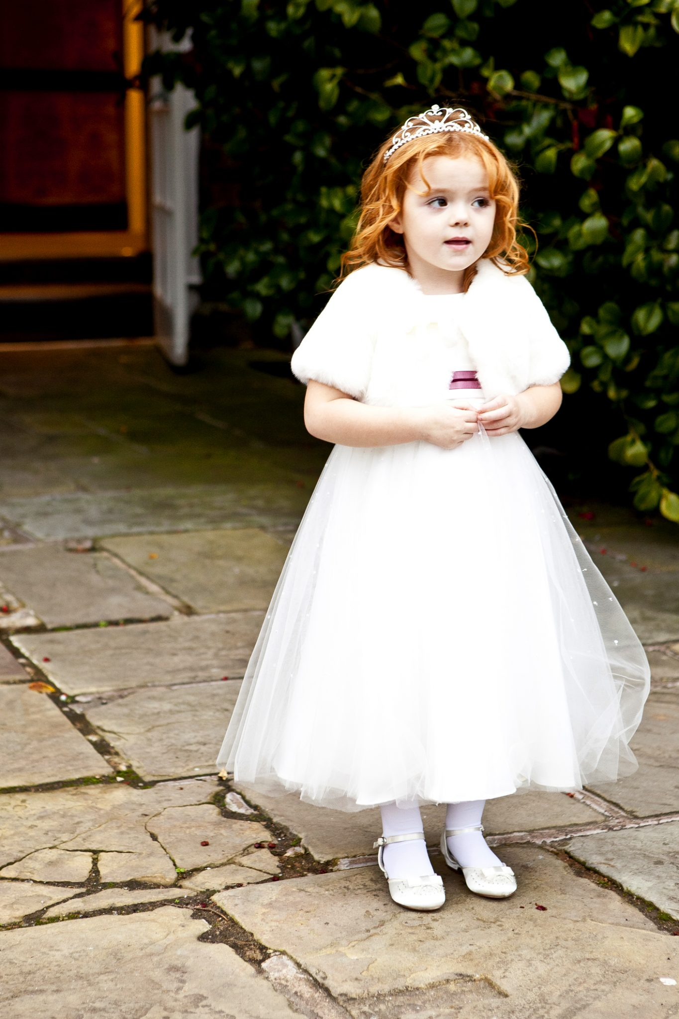 wedding-photography-of-the-bridesmaid-outside-mottram-hall-cheshire
