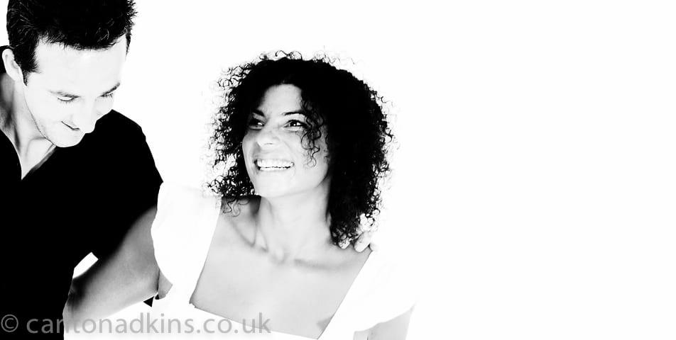contemporary portrait photography for engagement pre wedding shoots