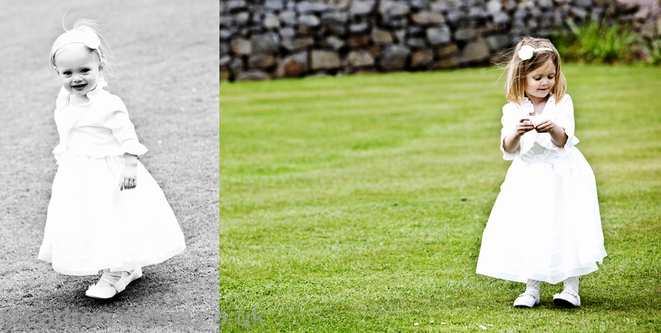 photography of the bridesmaids at the wedding venue rookery hall cheshire