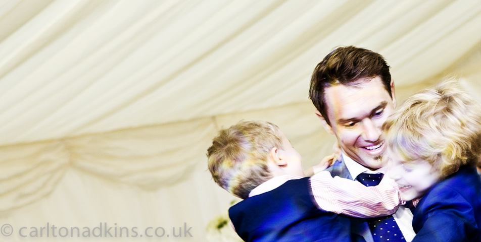 photography of the dancing at the wedding party in cheshire