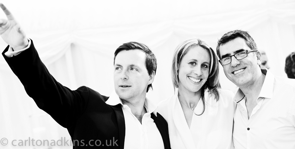 photography of the wedding guests in cheshire