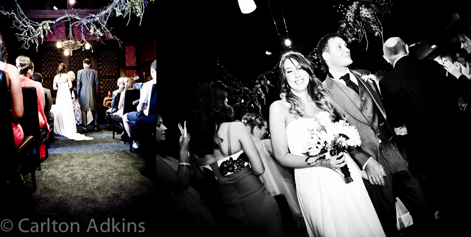photography of the civil wedding ceremony at the belle epoque knutsford cheshire