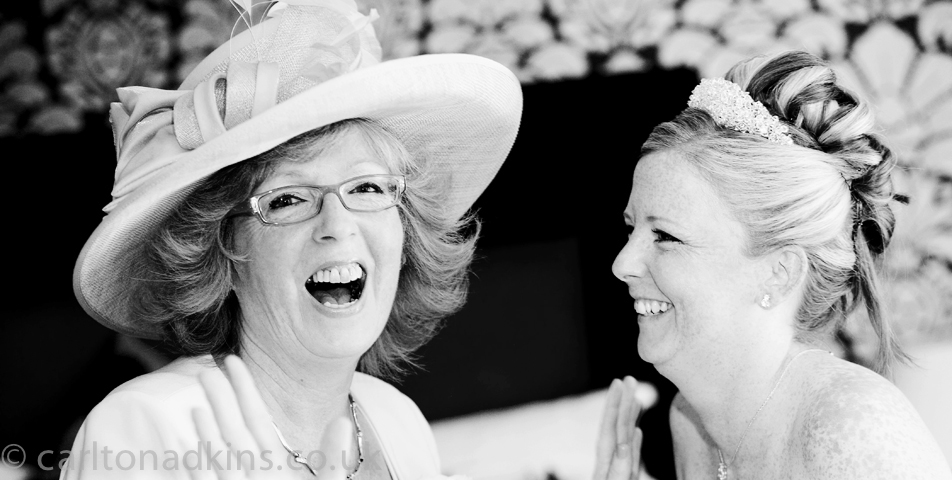 photography of the mother of the bride in berkshire