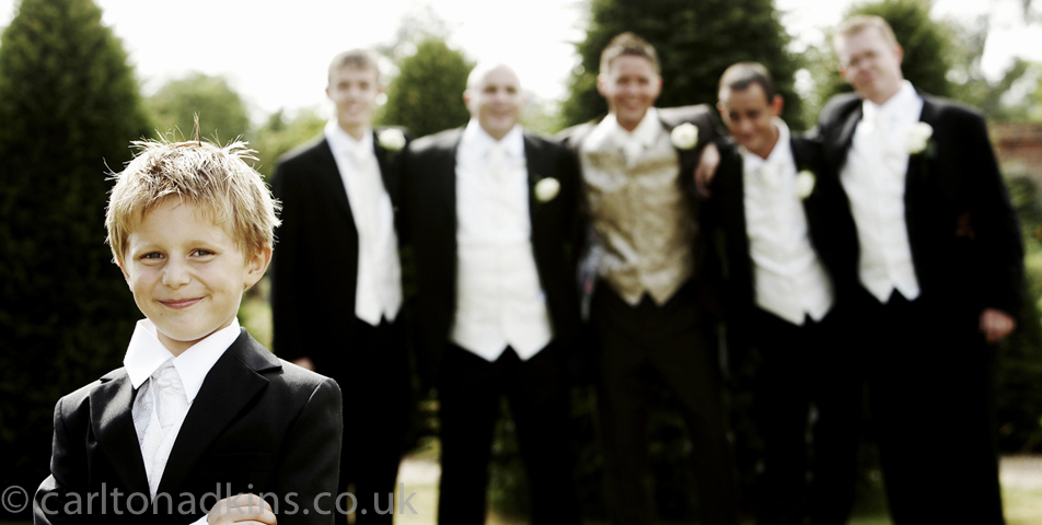 wedding photography of the ushers at Littlecote House Hotel