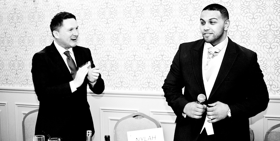 photography of the speeches at mottram hall cheshire