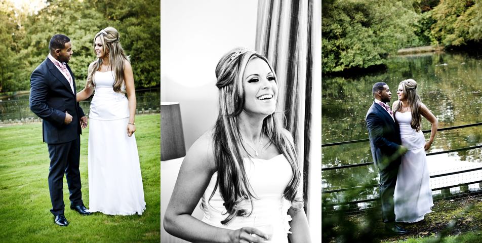 reportage wedding photographer at mottram hall cheshire