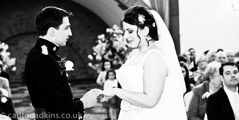 photography of the civil wedding ceremony at macclesfield cheshire