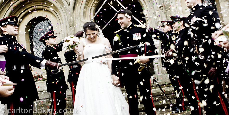 photography of the wedding ceremony at shrigley hall cheshire