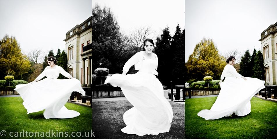 shrigley hall wedding photography