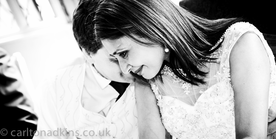 photography of the groom and bride at the wedding breakfast in cheshire