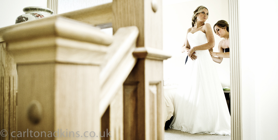 photography of the wedding dress in wilmslow cheshire