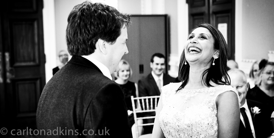 relaxed and informal wedding photography of the bride and groom in cheshire
