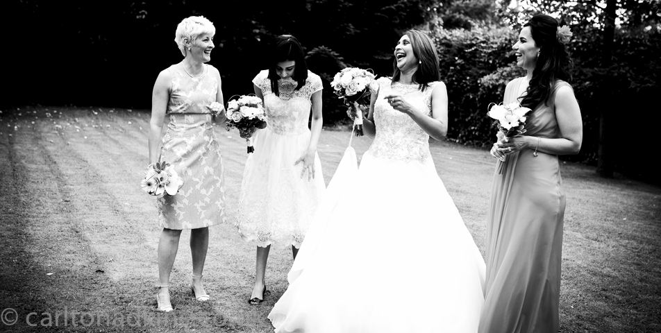 wedding group photos before the ceremony in cheshire