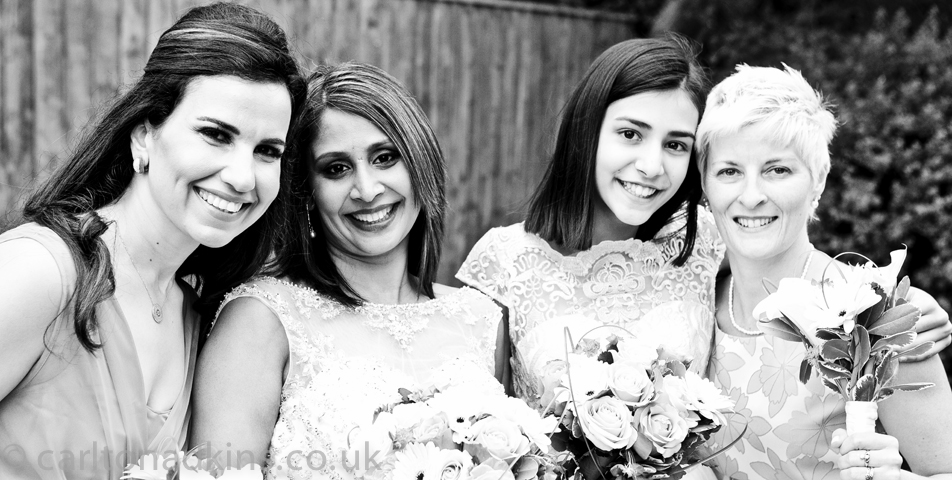 wedding photography group shots in cheshire