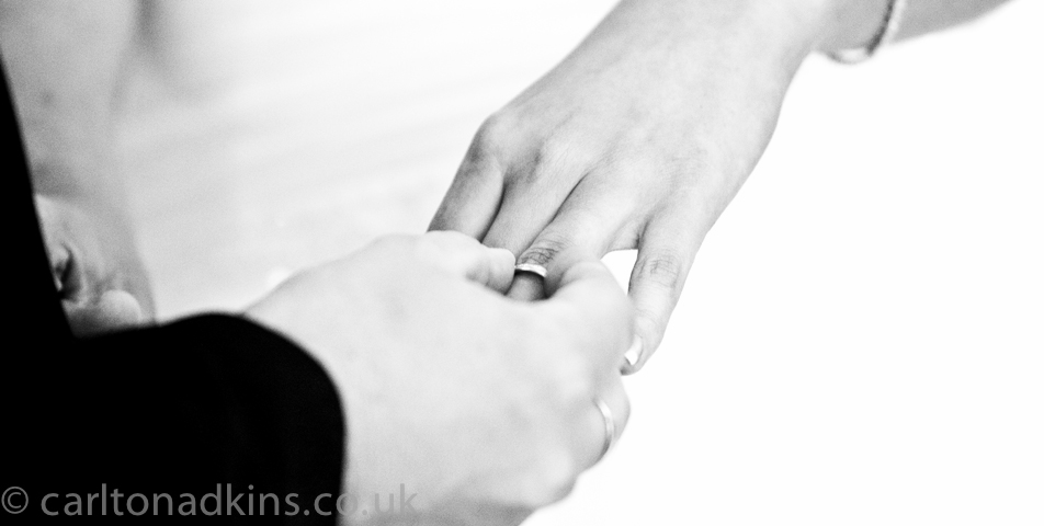 wedding photography of the vows in wilmslow cheshire