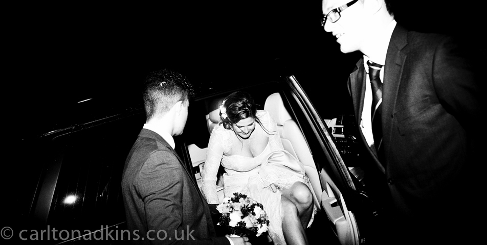 photography of the bride and groom in knutsford chedshire