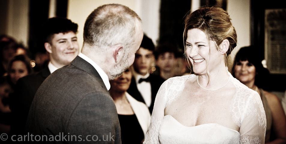 photography of the wedding vows in knutsford cheshire