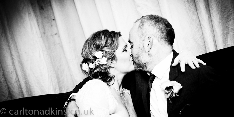 the bride and groom after the wedding ceremony in knutsford cheshire