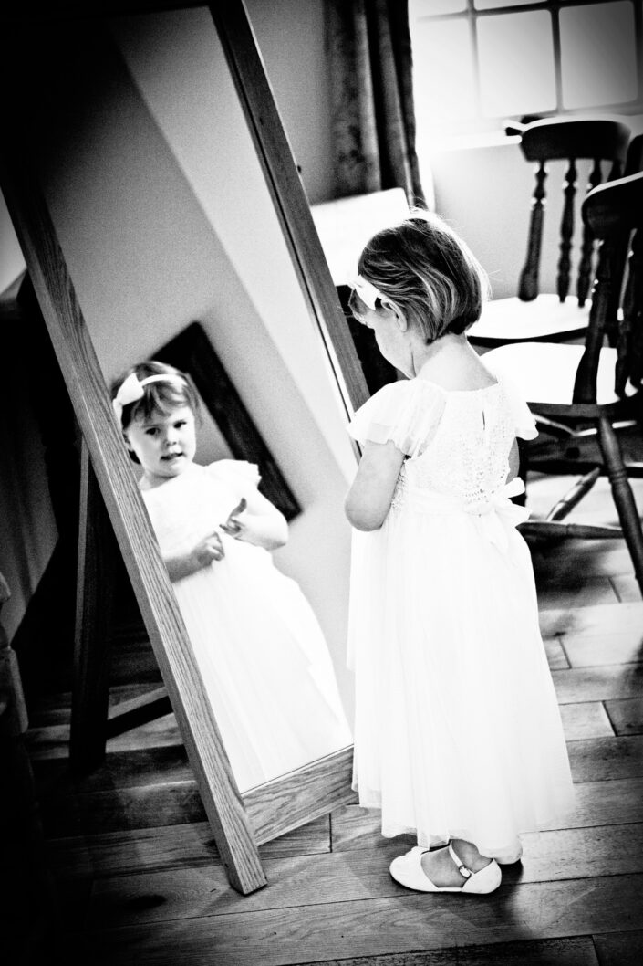 wedding-photography-of-the-bridesmaid-at-the-ashes-cheshire
