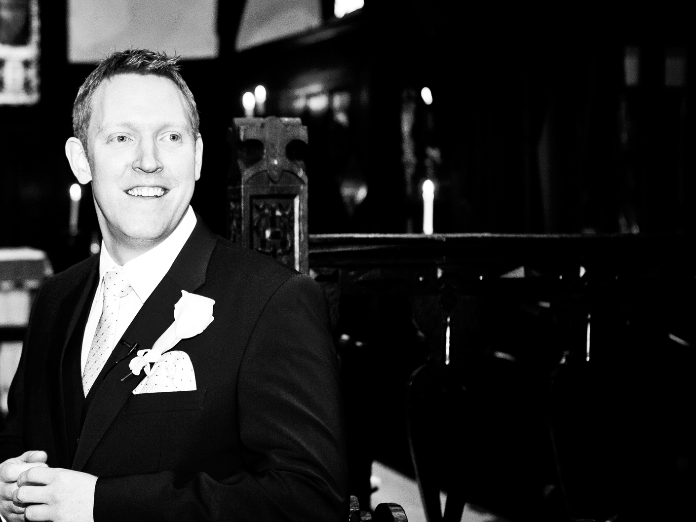 wedding-photography-of-the-groom-at-the-cheshire-wedding-ceremony