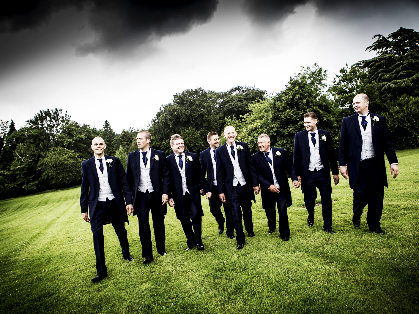 photography-of-the-ushers-and-groom-at-the-wedding-venue-cranage-hall-cheshire