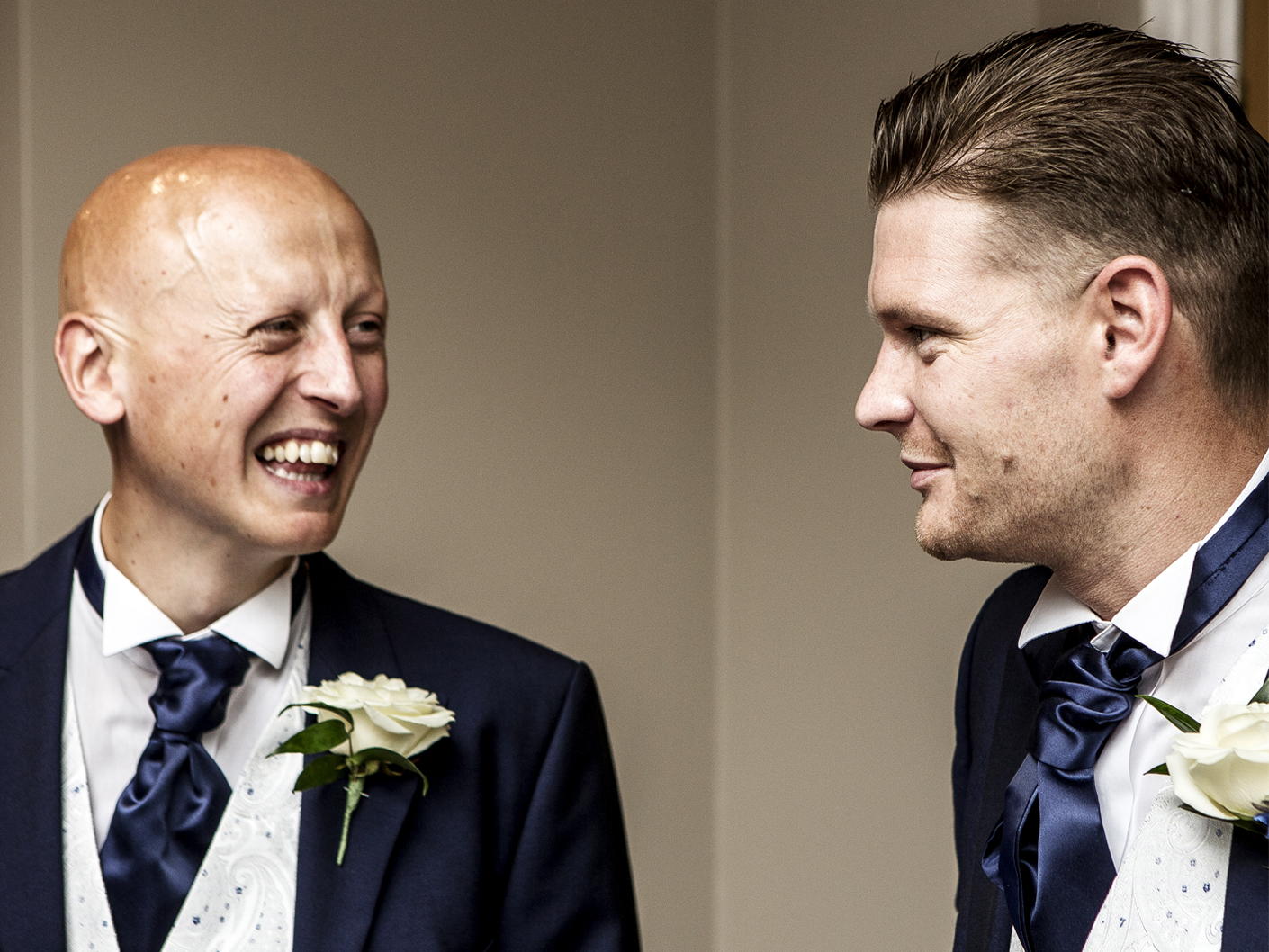 wedding-photography-of-the-groom-and-best-man-at-cranage-hall-cheshire