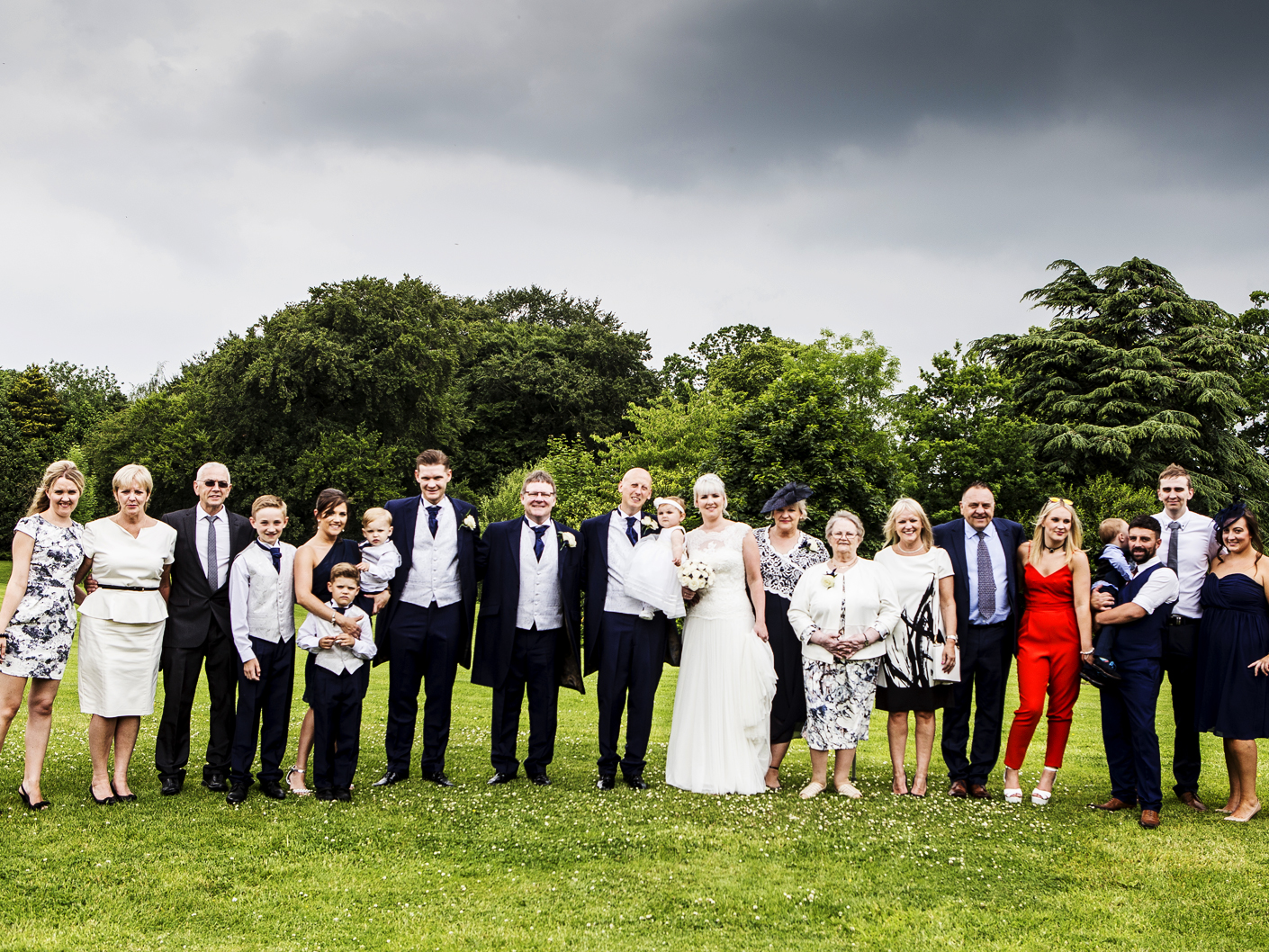 wedding-photography-of-the-group-shots-at-cranage-hall-cheshire
