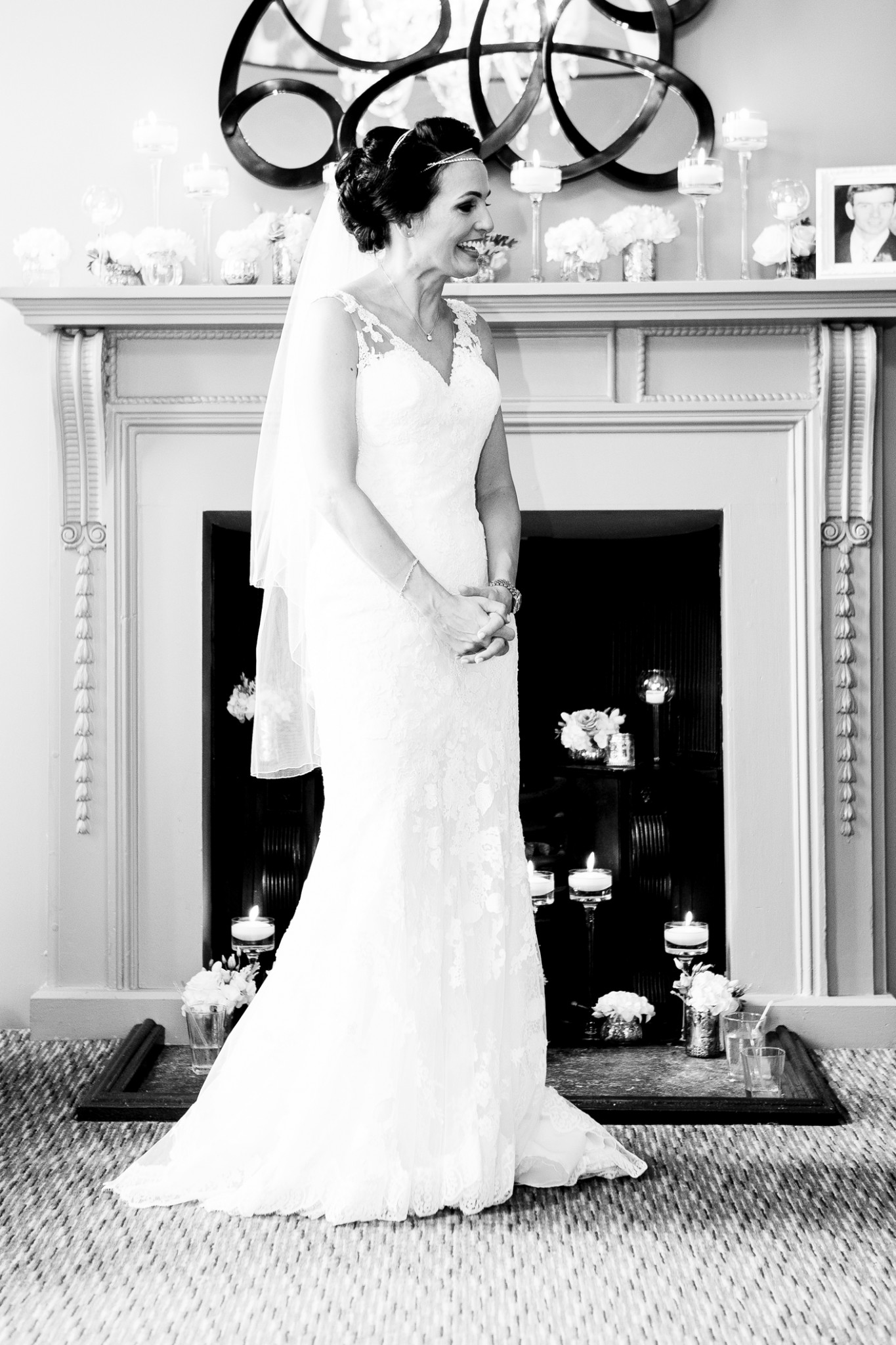 photography-of-the-bride-after-the-wedding-ceremony-in-cheshire