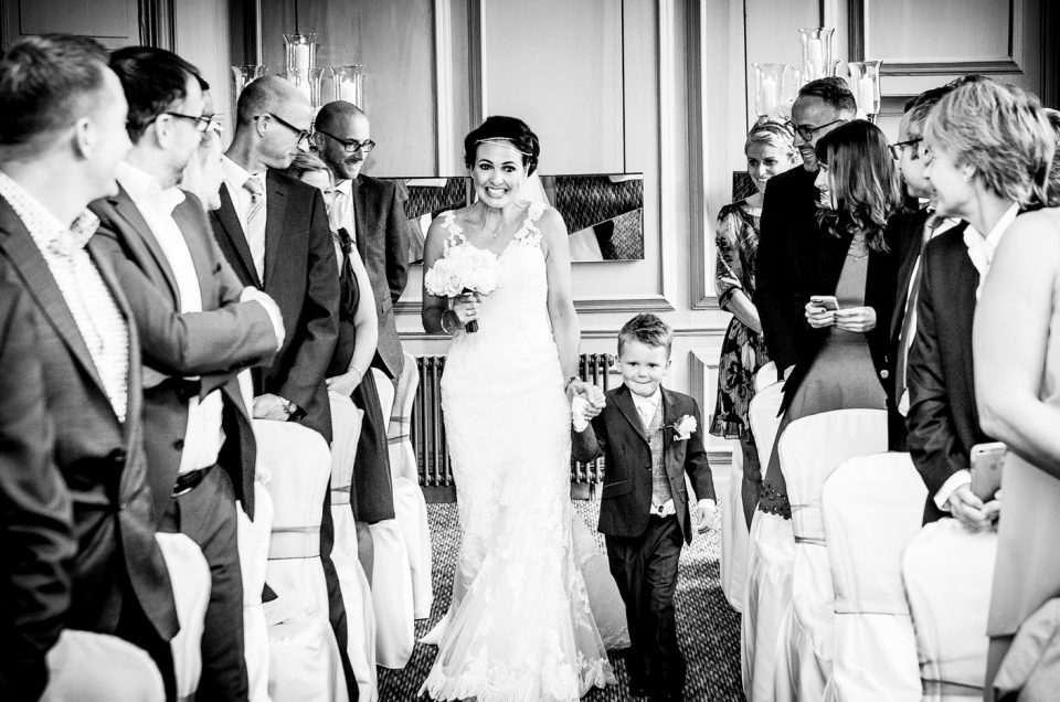 Wedding Photography at The Oddfellows Hotel Chester