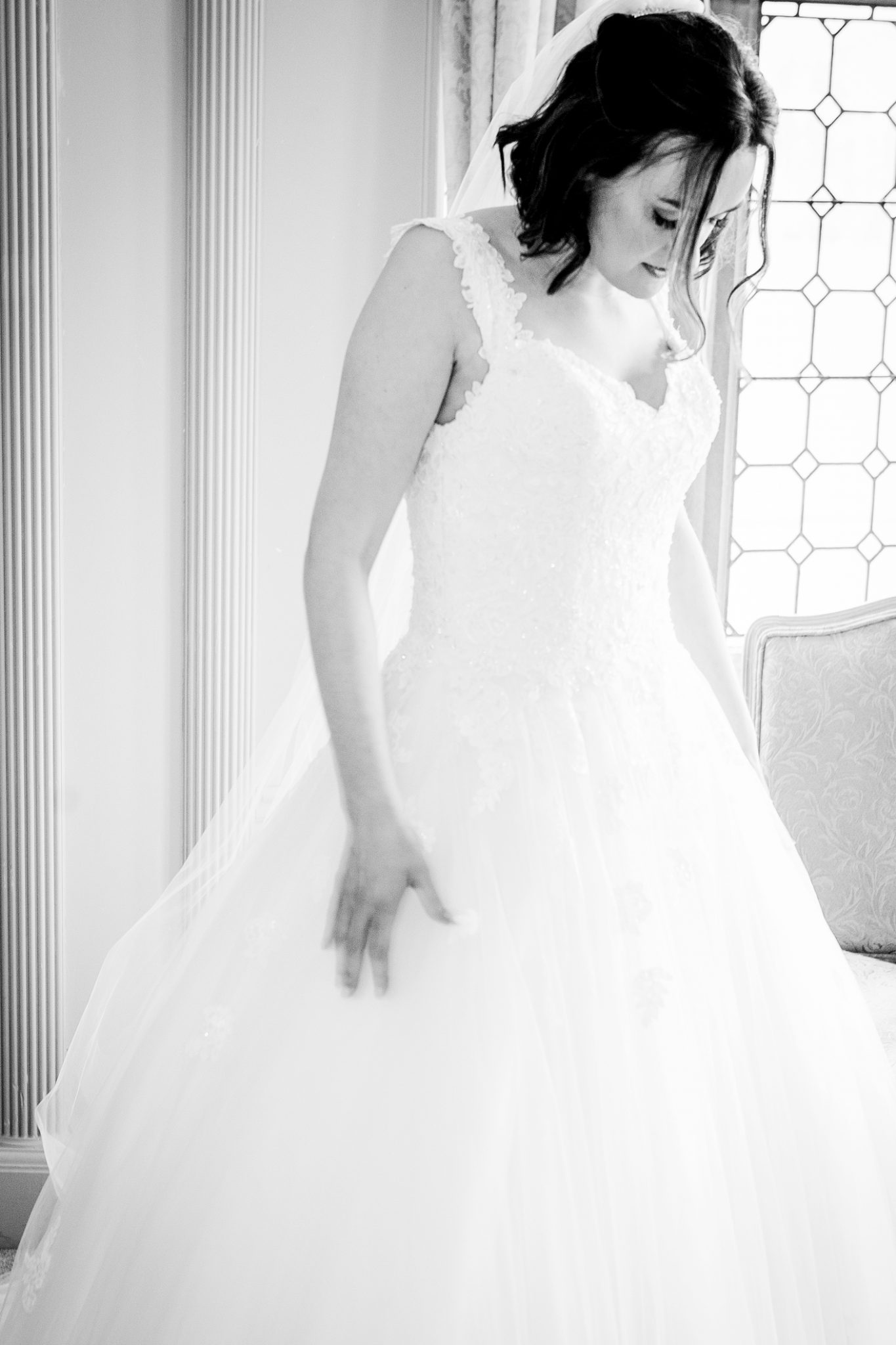 the-bride-taken-by-the-wedding-photographer-at-thornton-manor