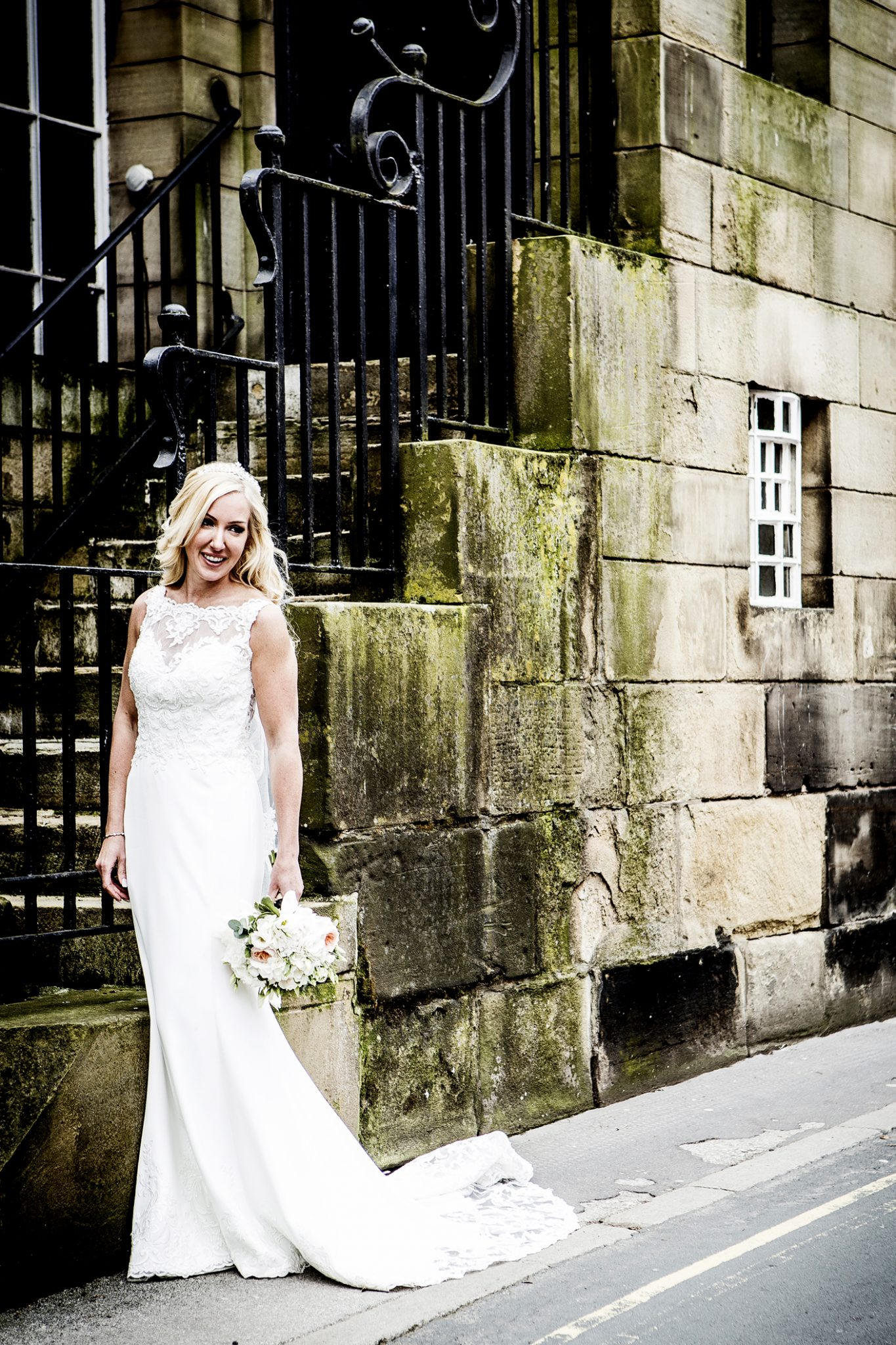 wedding-photography-of-the-bride-outside-the-belle-epoque-hotel-knutsford-cheshire