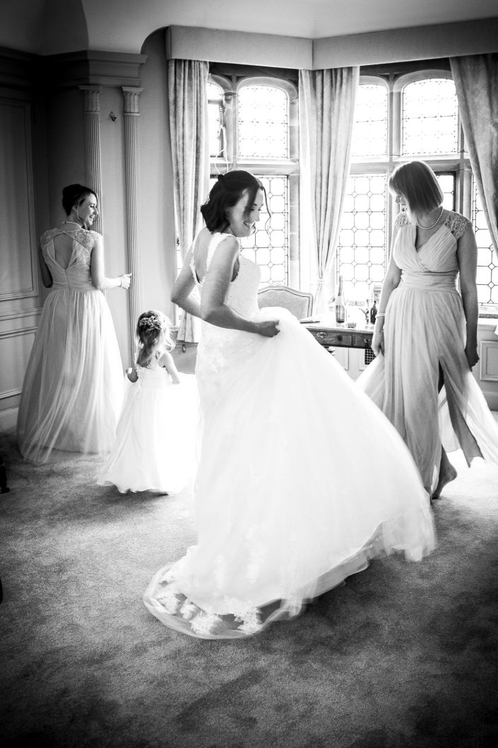 wedding-photography-of-the-bridesmaids-and-bride-at-thornton-manor-wirral