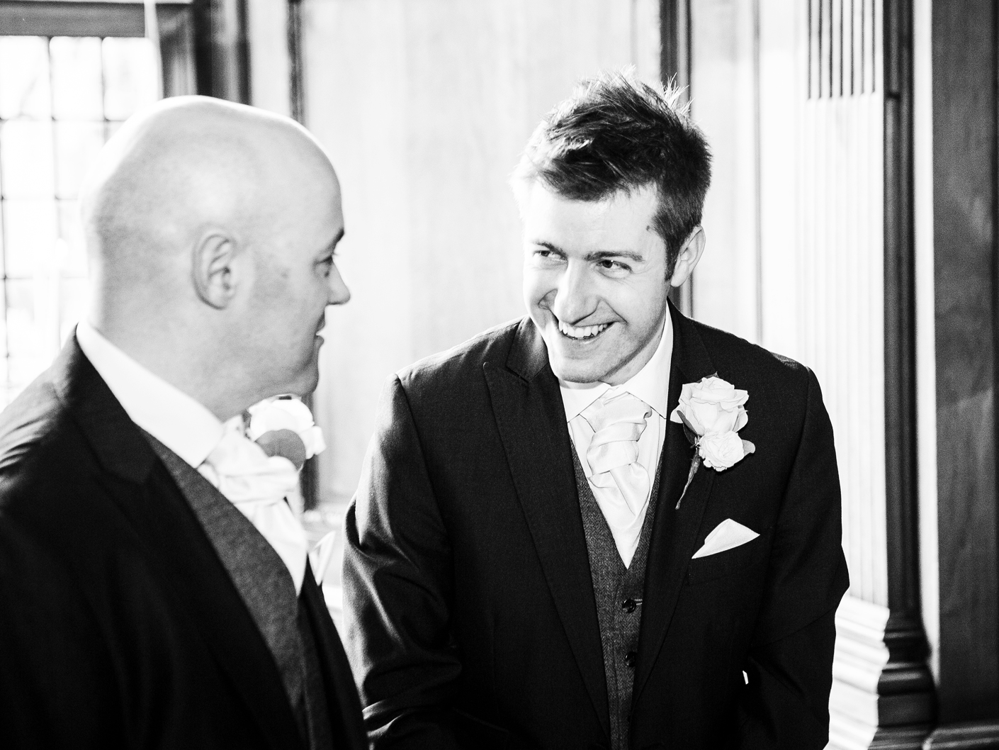wedding-photography-of-the-groom-and-best-man-at-thornton-manor-wirral