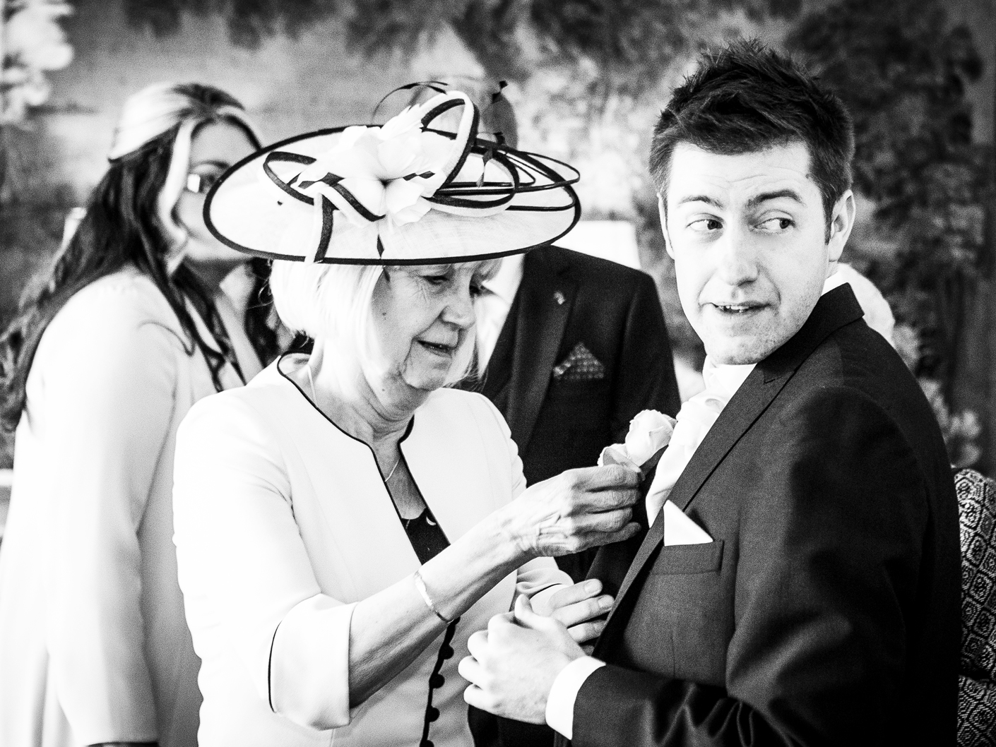 wedding-photography-of-the-groom-at-hotel-thornton-manor-wirral