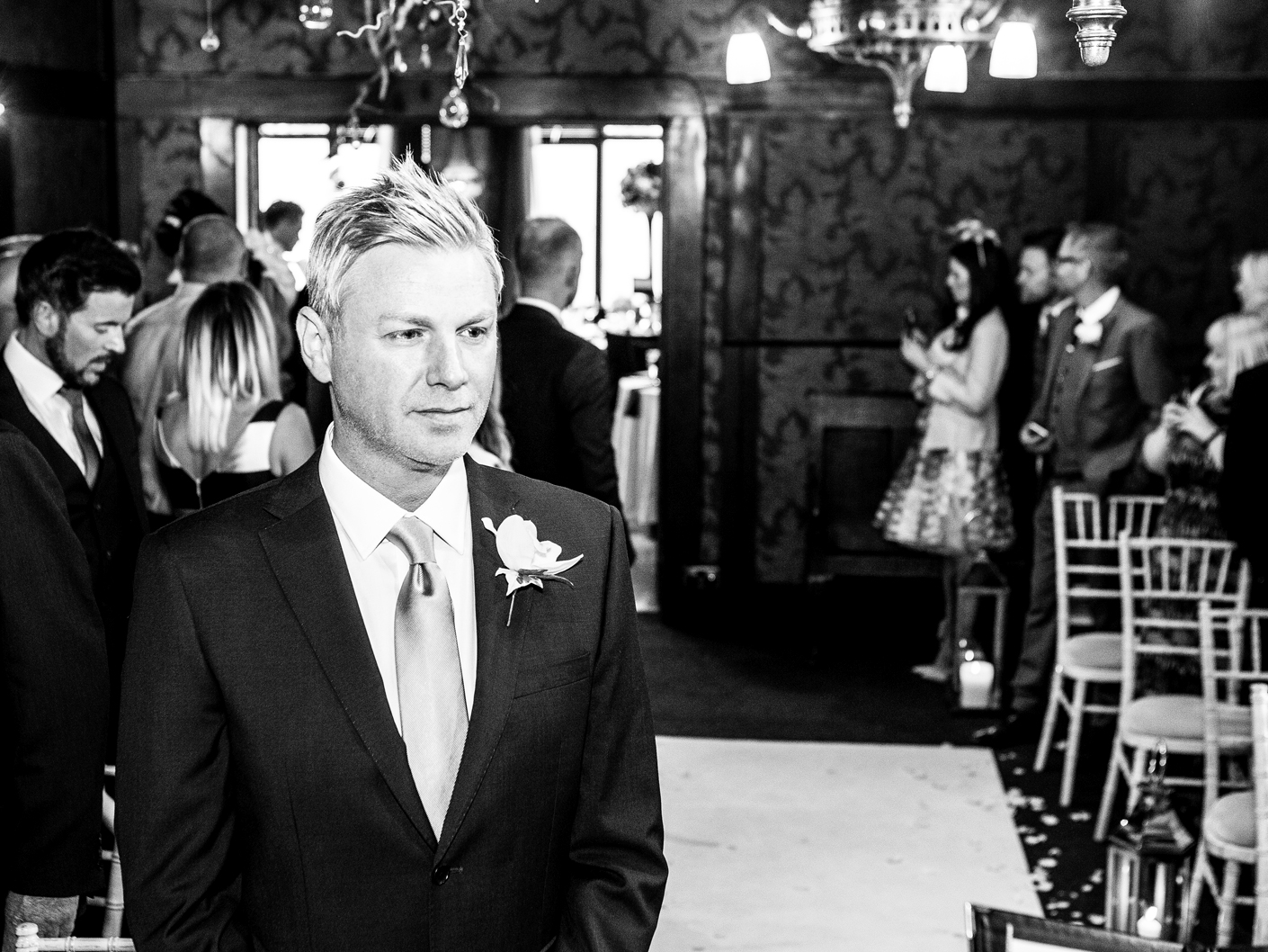 wedding-photography-of-the-groom-at-the-belle-epoque-knutsford-in-cheshire