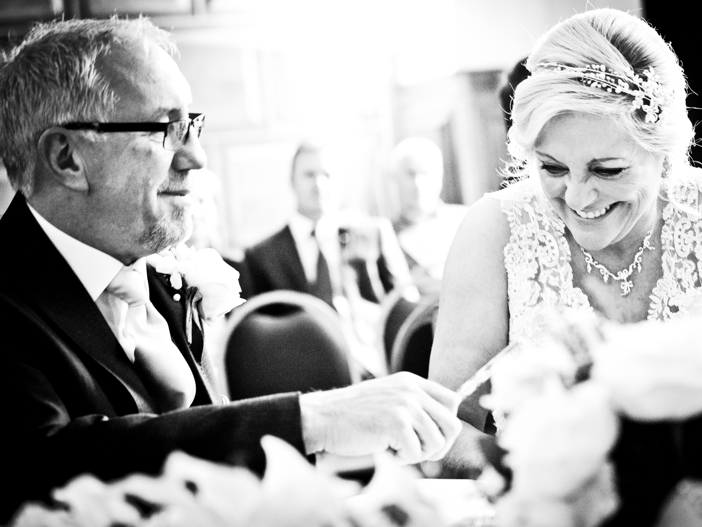 photography-of-the-bride-and-groom-at-the-cheshire-wedding-ceremony