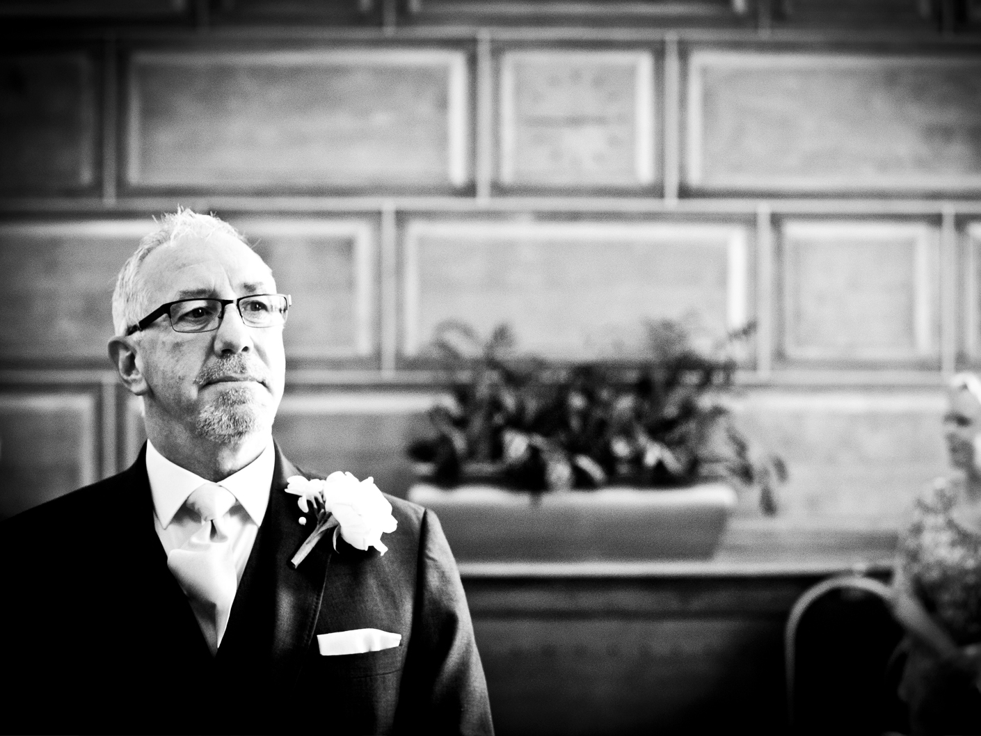 photography-of-the-groom-at-the-cheshire-wedding-ceremony