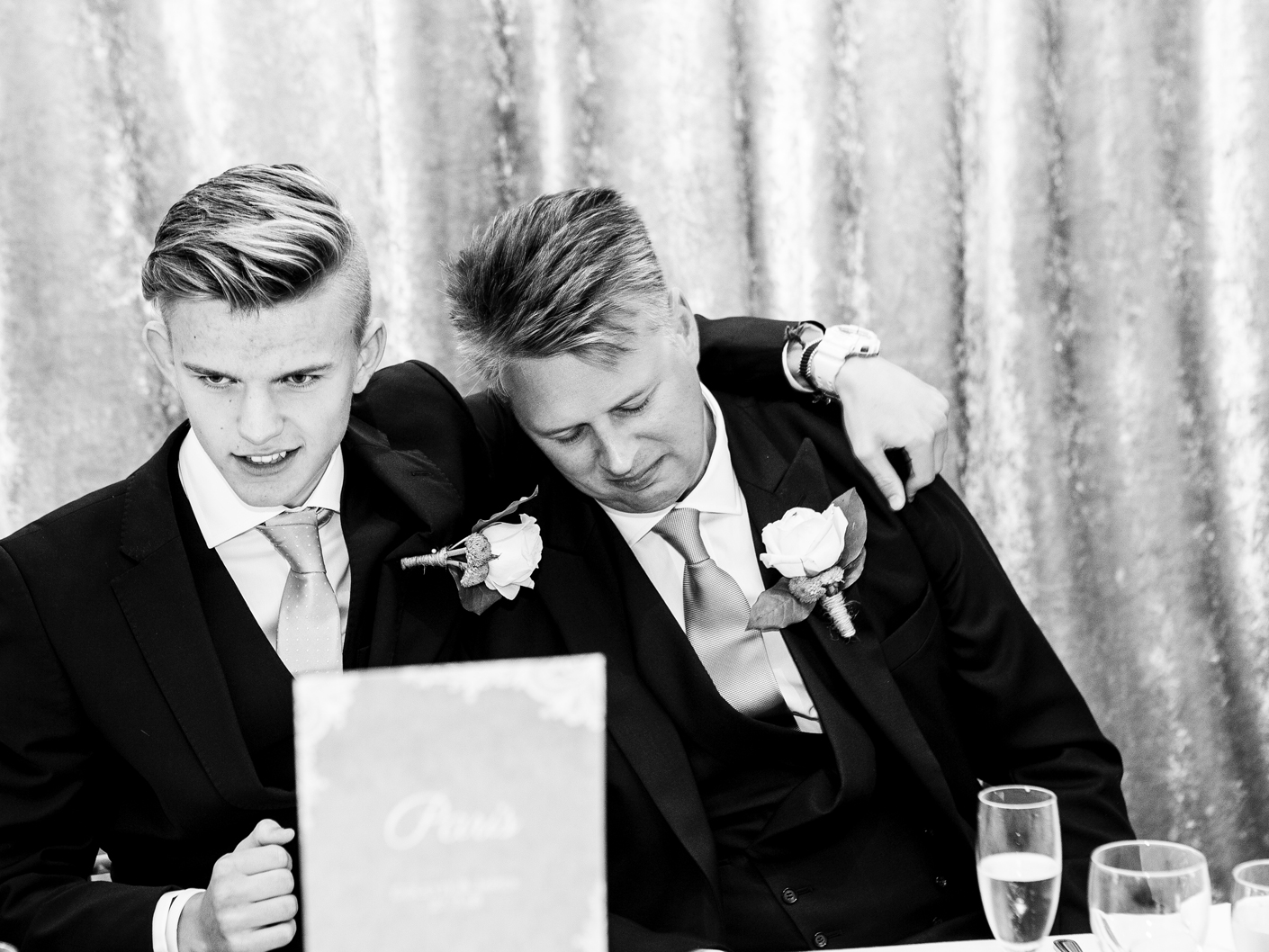 photography-of-the-groom-at-the-wedding-breakfast-at-merrydale-manor-knutsford-cheshire