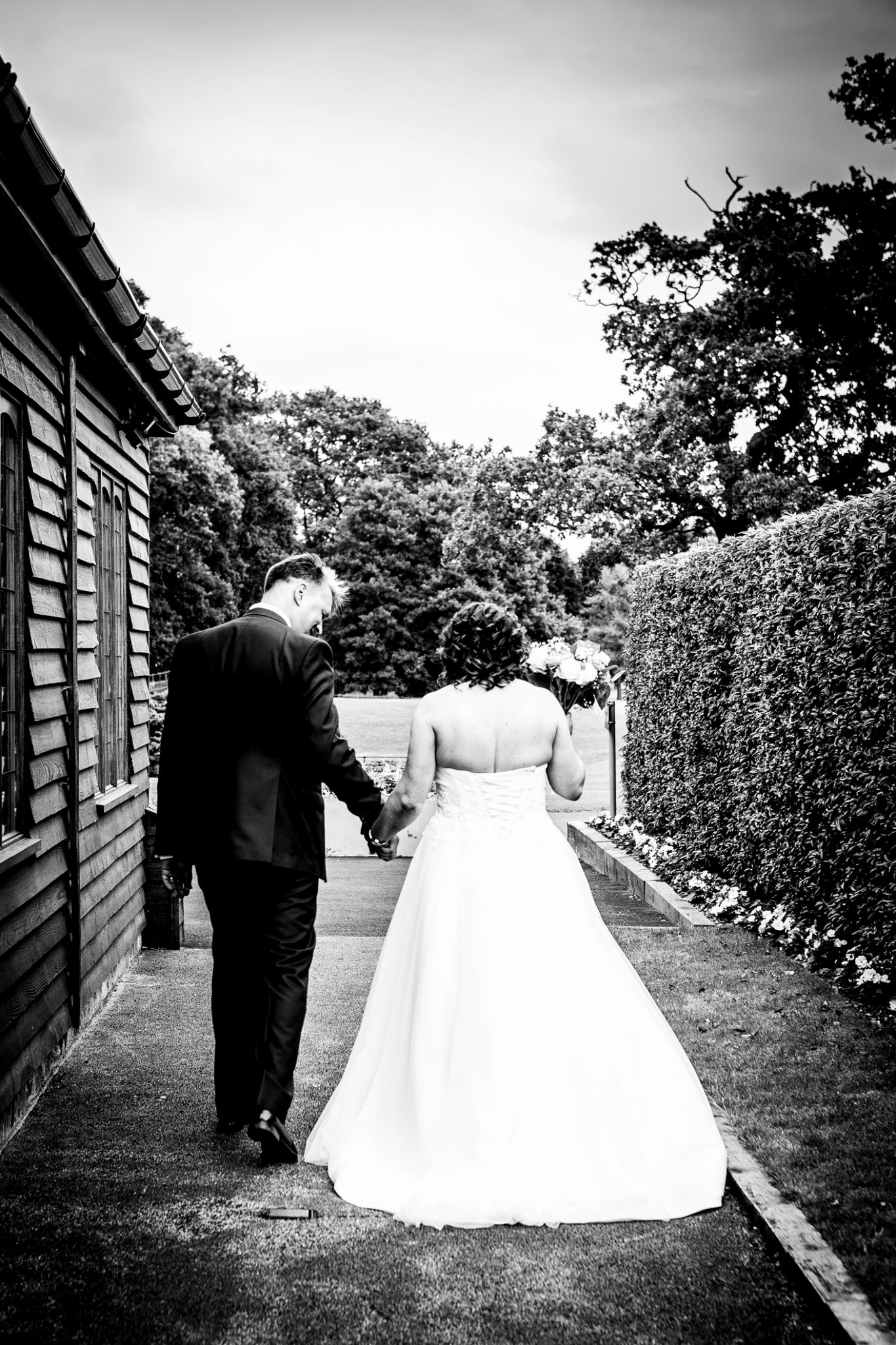 wedding-photography-of-the-bride-and-groom-after-the-ceremont-at-merrydale-manor-near-knutsford-cheshire