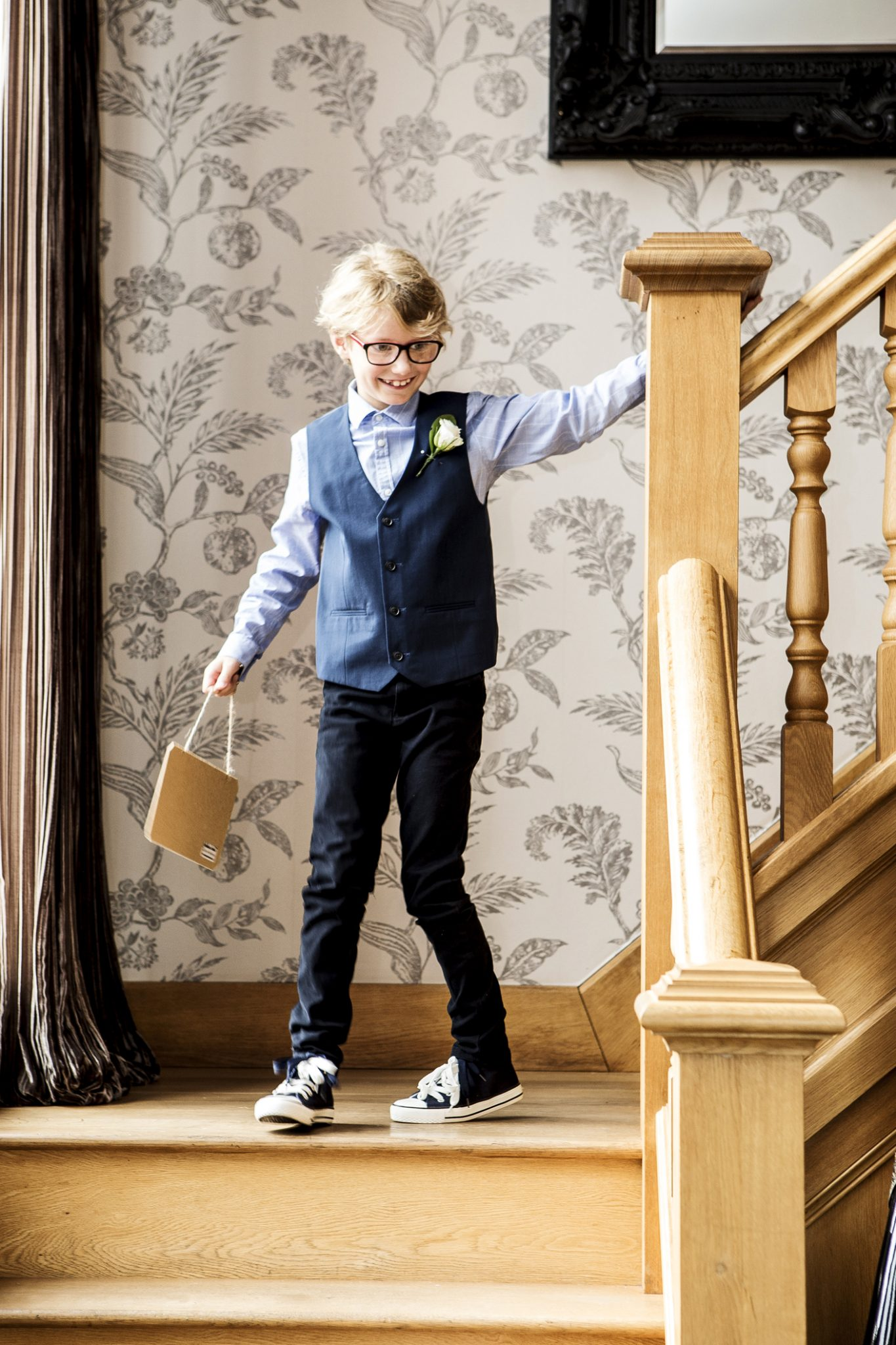 wedding-photography-of-the-page-boy-at-merrydale-manor-knutsford-cheshire
