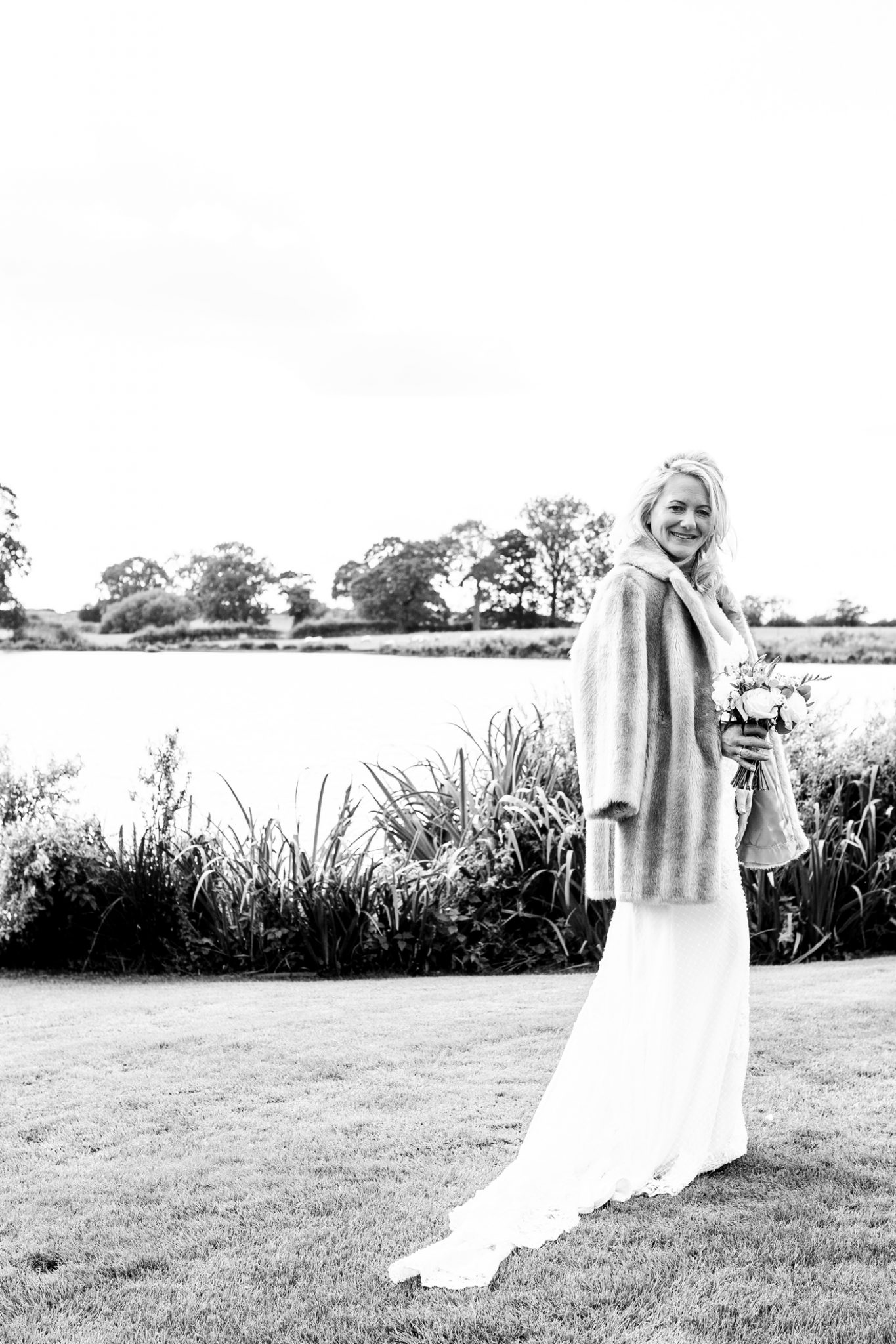 wedding-photography-of-the-bride-after-the-wedding-ceremony-in-cheshire
