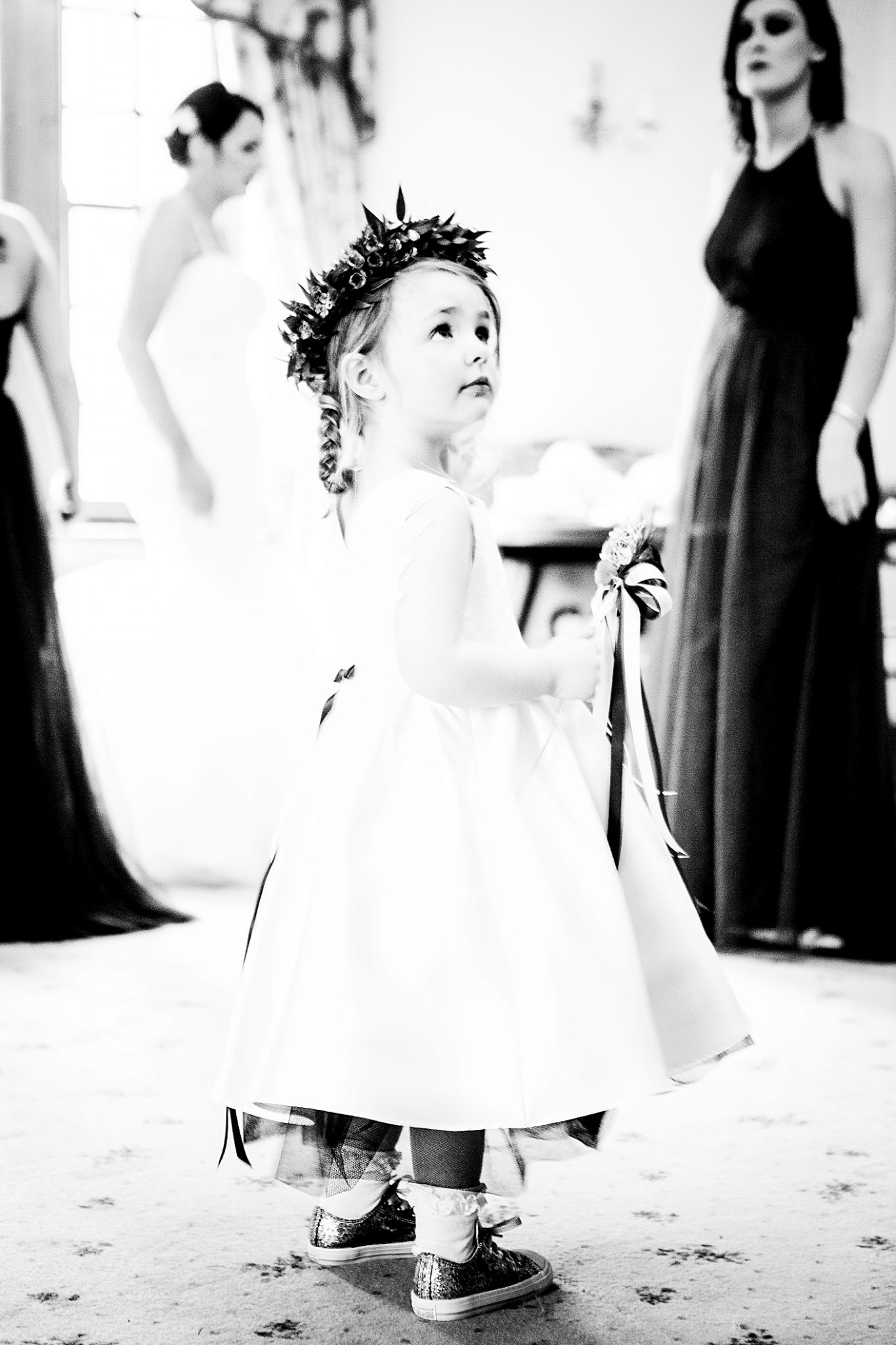 photography-of-the-bridesmaid-at-a-cheshire-wedding-venue