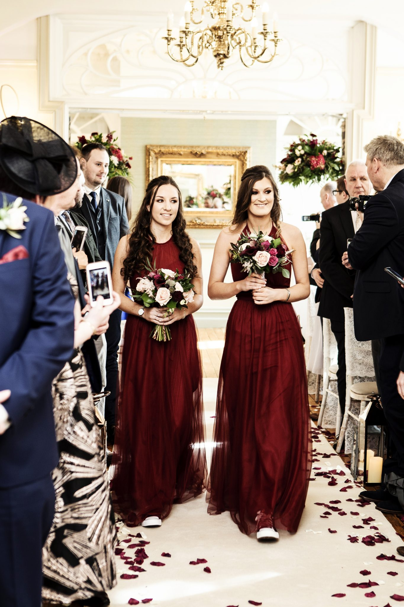 photography-of-the-bridesmaids-at-the-civil-wedding-ceremony-at-nunsmere-hall-cheshire