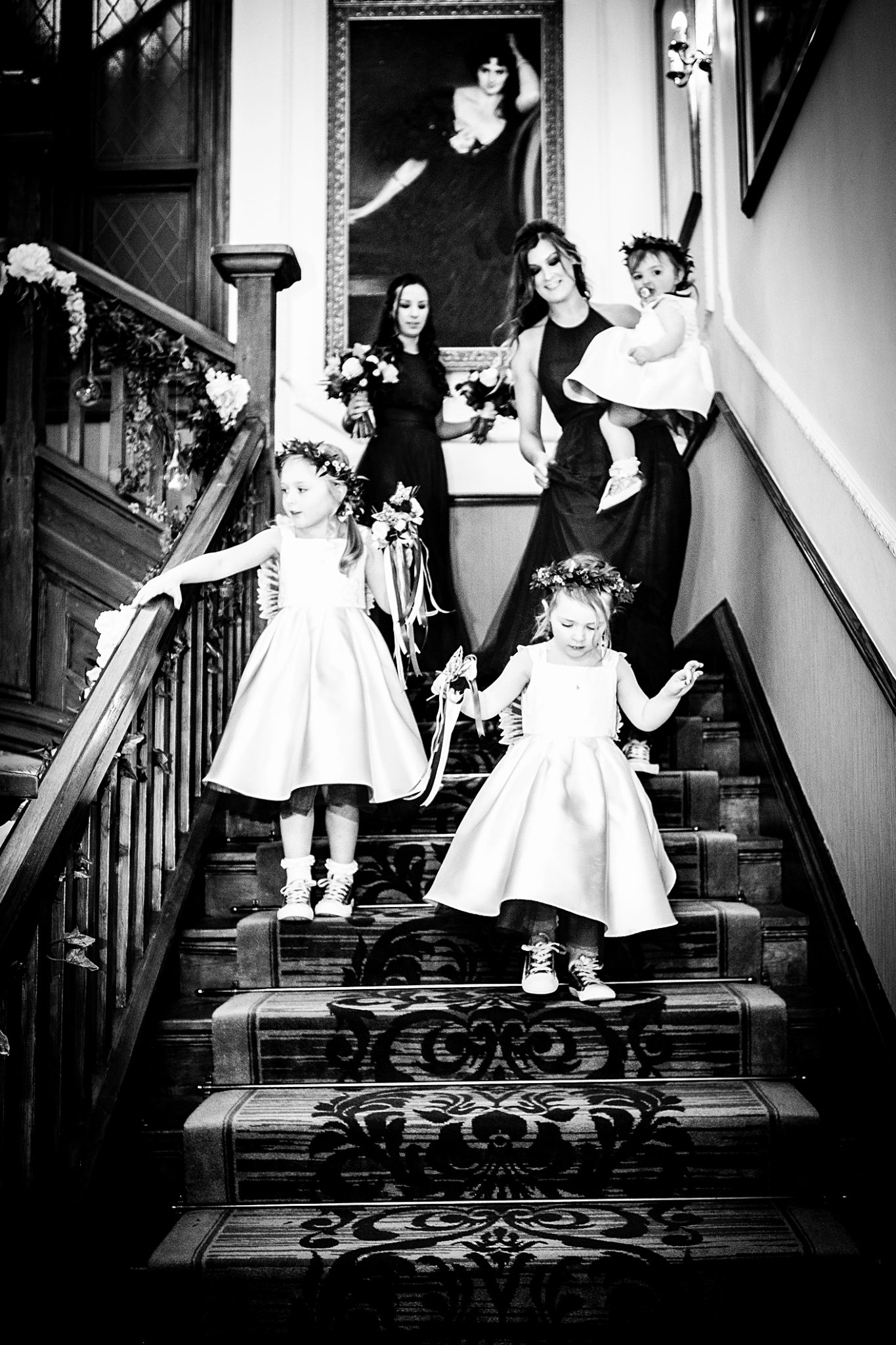 the-bridesmaids-at-nunsmere-hall-cheshire