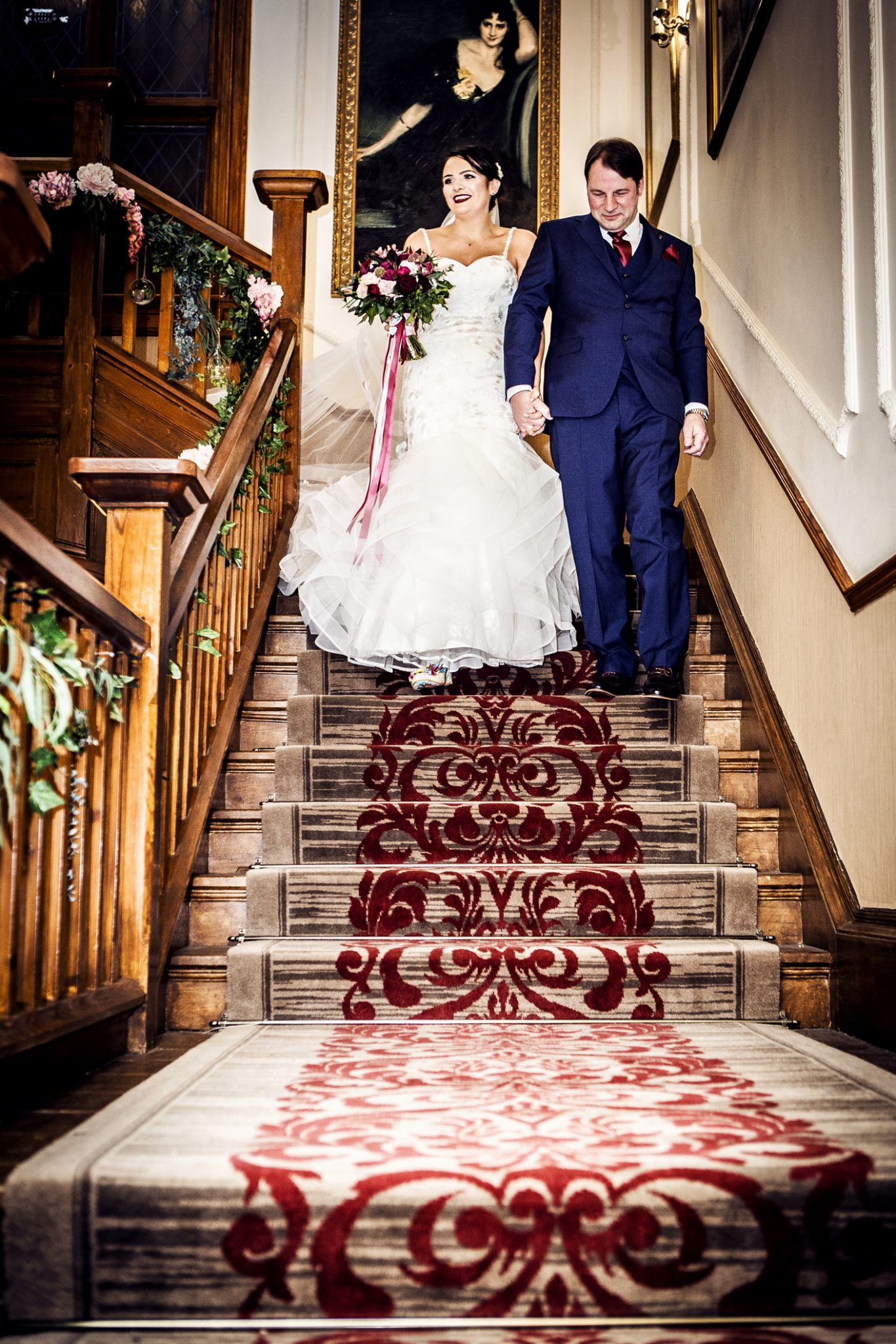 wedding-photography-of-the-brdie-before-the-wedding-ceremony-at-nunsmere-hall-cheshire