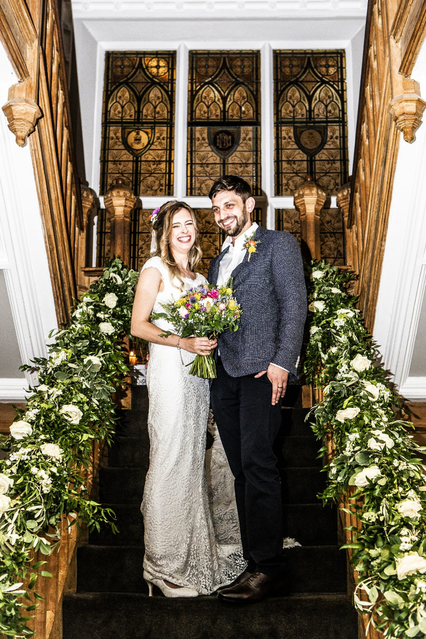 photography-of-the-bride-and-groom-after-the-wedding-ceremony-in-didsbury-house-hotel-manchester