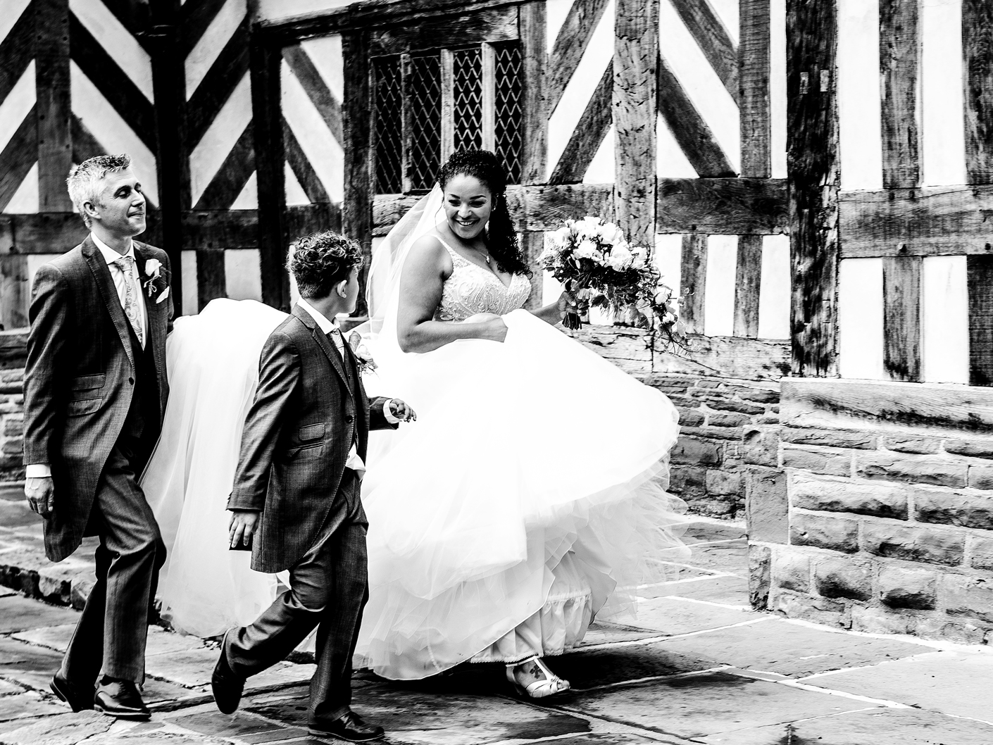 photography-of-the-bride-and-groom-and-page-boy-in-macclesfield-cheshire