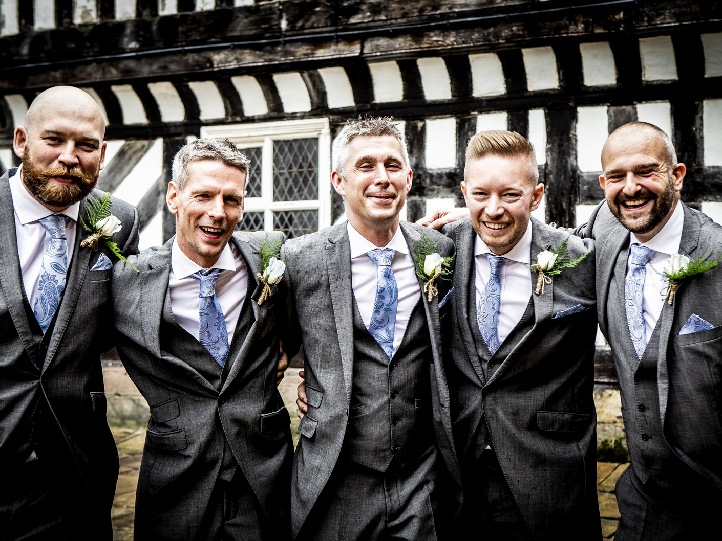 the-groom-and-ushers-at-adlington-hall-cheshire